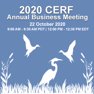2020 CERF Annual Business Meeting: 22 October 2020